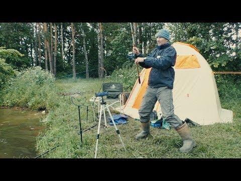 Рыбалка с Ночевкой. Борьба с Большим Карпом. Ловля Леща