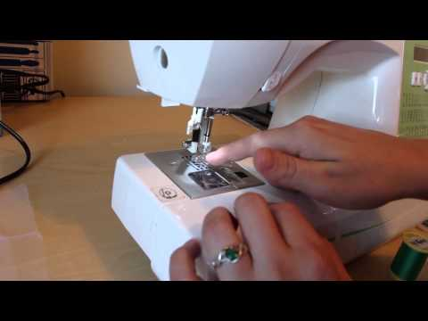 how to embroider with a regular sewing machine