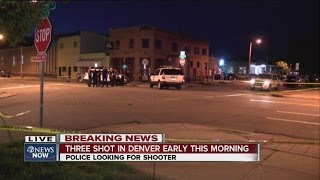 3 people shot outside Cold Crush bar in Denver