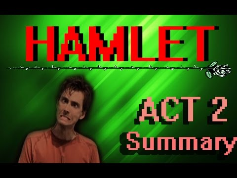 Hamlet | ACT TWO Plot Summary | Shakespeare's Corner