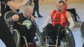 Rollstuhl-Rugby Länderspiel