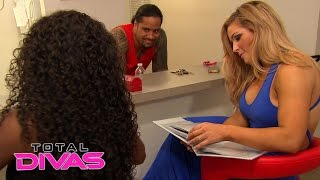 Natalya looks at Naomi and Jimmy Uso's wedding album: Total Divas, February 8, 2015