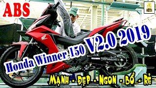 Honda Winner V2.0 2019 ABS Sắp Ra Mắt ▶️ Thông tin mới nhất về Winner 150 V2.0 2019 🔴 TOP 5 ĐAM MÊ