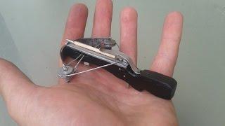 How To Make 4'' Mini Crossbow