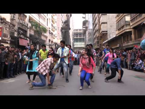 ICC World Twenty20 Bangladesh 2014 - Flash Mob northern University banani campus
