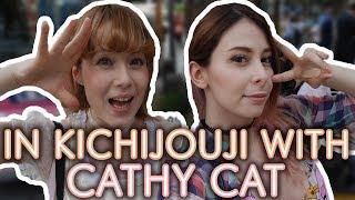 In Kichijouji with CATHY CAT (Eng Subs) | #YurikoTiger