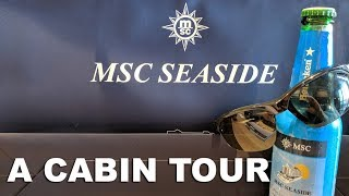 MSC Seaside Balcony Cabin Tour
