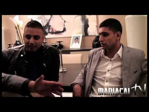 Amir Khan & Imran Khan Interview in Dubai with Kit Kheedo