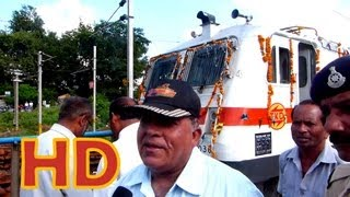 HABIBGANJ INDORE DOUBLE DECKER LOCO PILOT TALKS ABOUT THE FIRST RUN OF HBJ INDB DD