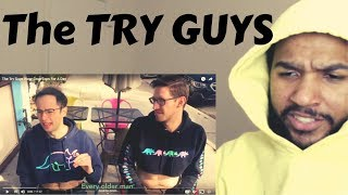 The TRY GUYS Wear Crop Tops | Reaction
