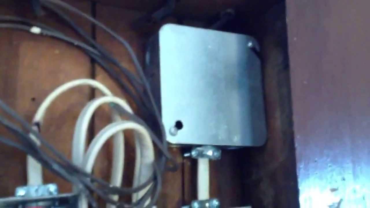 Knob And Tube Junction Box