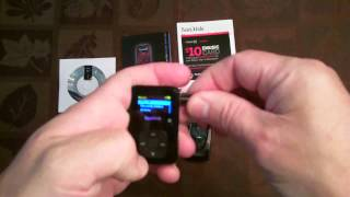 SanDisk Sansa Clip+ 4 GB MP3 Player by SanDisk Unbox and Review
