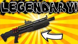 #1 LEGENDARY HEAVY SHOTGUN - FORTNITE BATTLE ROYALE GAMEPLAY