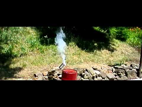 Nikon Slow motion pyrodex test