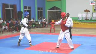 Taekwondo players in Manipur Jeet Kune Do Championships