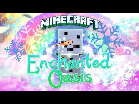 Elsa & Olaf  - Minecraft: Enchanted Oasis Ep 21 video