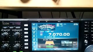 Video confronto ts2000 hmmixer mod vs ic7700 natural