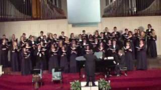 """Crucifixion"" (""He Never said a Mumblin' Word"") by Adolphus Hailstork 2010 Belmont Chorale"
