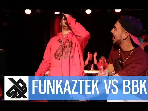 Funkaztek (sui) Vs Bbk (can)  |  Saint Legends Beatbox Battle  |  1 4 Final video
