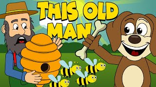 This Old Man | Nursery Rhymes And Kids Songs | Puppy Hey Hey
