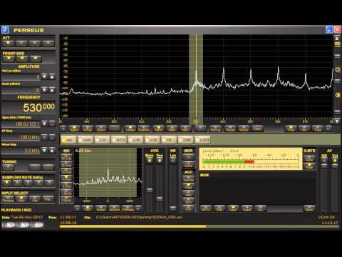 Radio Enciclopedia (Cuba) 530kHz 11/6/12 10:59~ UTC - Complete Station Announcement