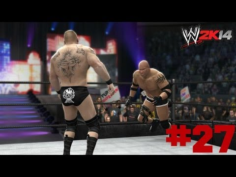 Wwe 2k14 - Brock Lesnar Vs Goldberg | 30 Years Of Wrestlemania Part 27 (hd) video