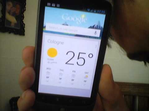 Jelly Bean Android 4.1.1 running on Nexus One