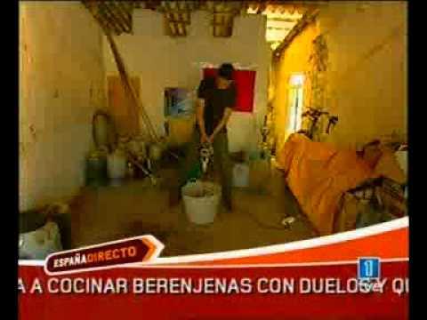 Biodiesel de la basura Ecofa gasolina de bacteria en televisión Española Francisco Angulo