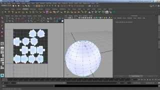 UV Projection Mapping in Maya