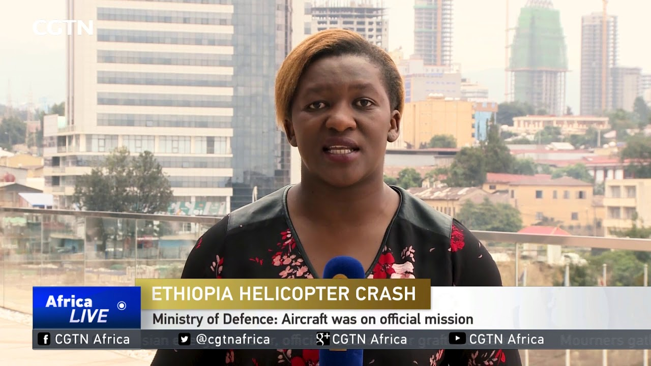 CGTN: Ethiopian Authorities Probe The Cause of Military Aircraft Accident