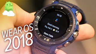 Casio WSD-F30 Impressions: New Wear OS 2018 Update [Android Wear]