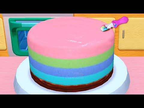 Baby Learn Colours With My Bakery Empire - Play Fun Bake, Decorate & Serve Cakes Games For Girls thumbnail