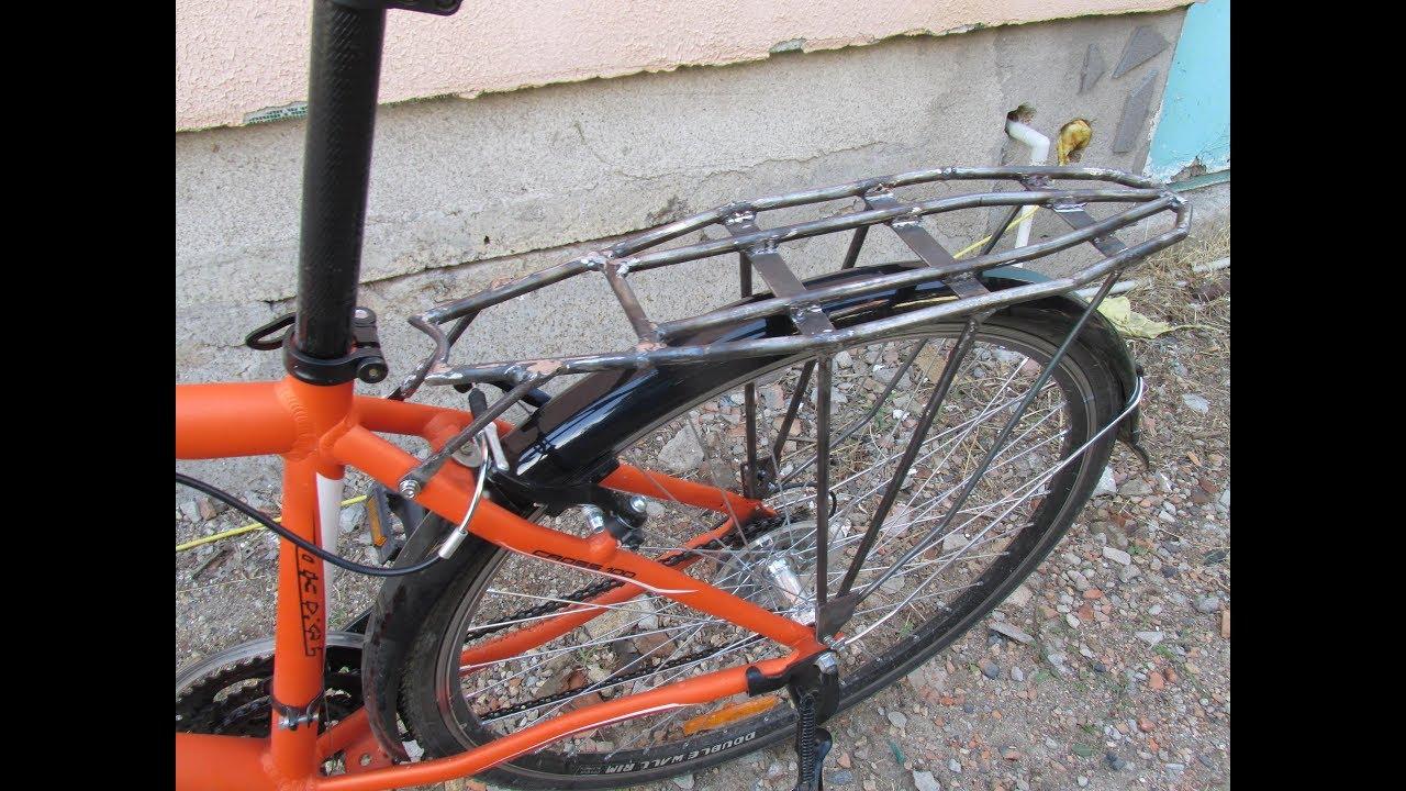 Багажник для горного велосипеда своими руками 31