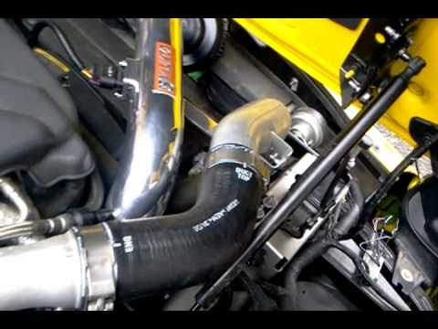 Pontiac Solstice Gxp Cold Air Intake Bov Hd Youtube