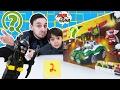 Папа Роб и Ярик продолжают собирать #Lego The Batмan Movie! Часть 2