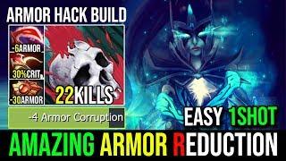Full Armor Reduction Desolator+Solar Crest [Phantom Assassin] ARMOR HACK By Bulldog 22Kills - DotA 2