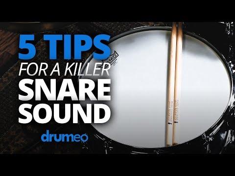 5 Tips For A Killer Snare Sound