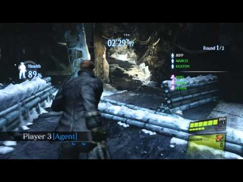 Resident Evil 6 - Siege Mode Gameplay