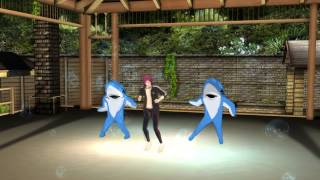 【MMD Free!】 Beauty and a Beat 【Rin & Dancing Sharks】