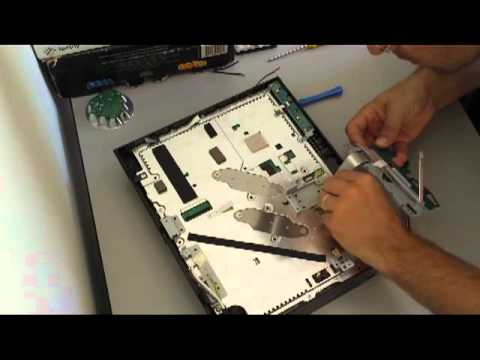 Ps3 Fat Disassembly Ps3 80gb Cbeh1000 Fat 2007