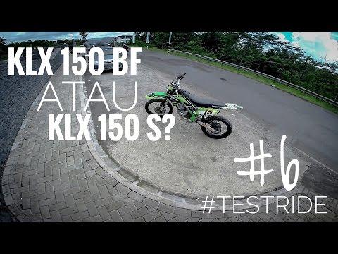 TESTRIDE | KAWASAKI KLX 150 S or BF?| gembok cinta #6 MOTOVLOG