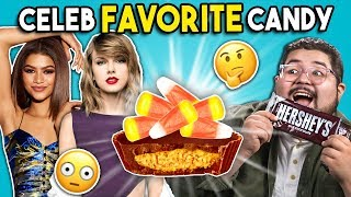 Trying Celebrity Favorite Candy | People vs. Food