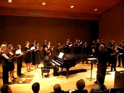 Mata del Anima Sola (Estevez) - UNT Chamber Choir