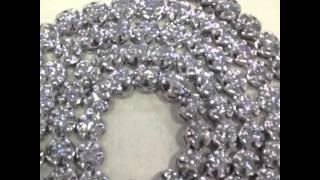 Mr Chris Da Jeweler custom 14k gold 18ct diamond tennis cha