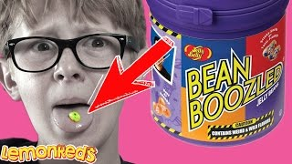 BEAN BOOZLED CHALLENGE! New Super Gross 4th Edition Jelly Beans | LemonReds Episode 10 Candy Review
