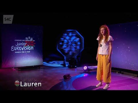 Lauren | Chwilio am Seren | Junior Eurovision 2019 | Cymru | Wales