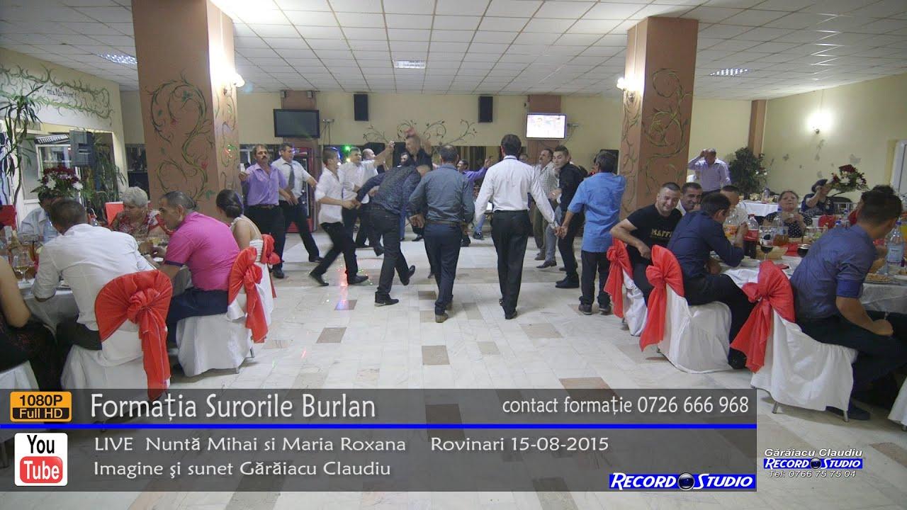 ♫ Surorile Burlan Colaj SARBA part.1 LIVE Nunta Mihai si Maria Roxana 15-08-2015