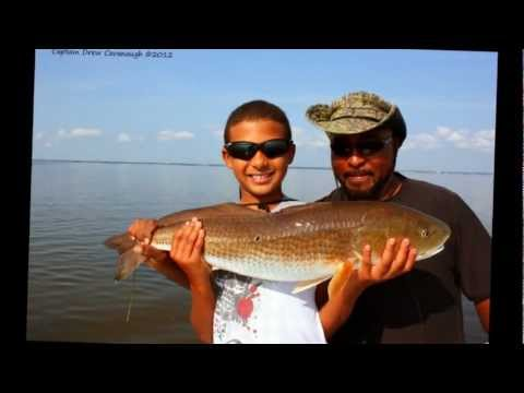 Titusville Florida Fishing Giant Bull Redfish