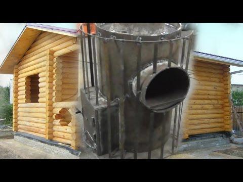Надёжная печь для бани с парогенератором