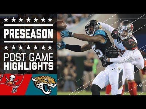 Buccaneers Vs Jaguars Game Highlights Nfl
